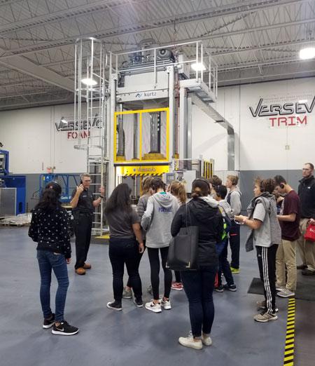 Versevo Workforce Development Students Tour 2